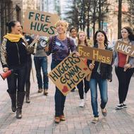 Bliss Mob Hug Parade