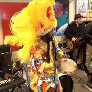 Big Chief Juan Pardo & the Golden Comanche Mardi Gras Indians. Source: YouTube