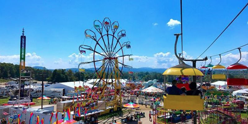 NC Mountain State Fair / photo by @curatednc